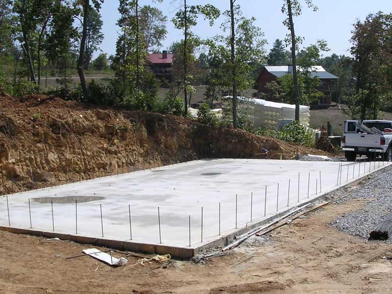 Concrete slabs concrete workz for House slab foundation